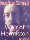 Weir of Hermiston (eBook)